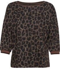 sweat short 3/4 sleeve blouse lange mouwen zwart betty barclay