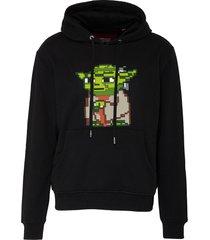 'star wars' yoda print hoodie