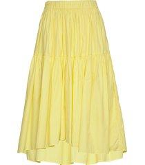 vitto knälång kjol gul mbym