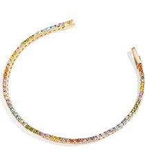 baublebar bennett crystal bracelet in multi at nordstrom