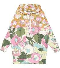 fendi windflowers hoodie