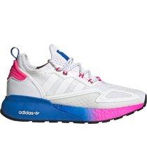 zapatilla blanca adidas zx 2k boost