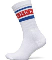 the high sock - striped white fiery underwear socks regular socks vit arkk copenhagen