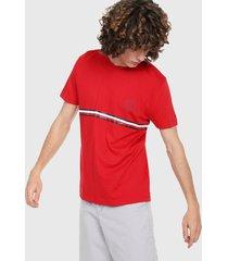 camiseta rojo tommy hilfiger
