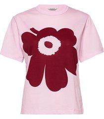 kapina unikko t-shirt t-shirts & tops short-sleeved roze marimekko
