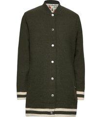 himle jacket stickad tröja cardigan grön kari traa