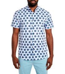 tallia men's performance stretch short sleeve shirt