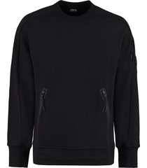 c.p. company cotton crew-neck sweatshirt