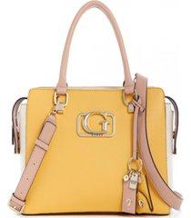 cartera annarita girlfriend satchel amarillo guess