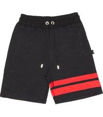 black shorts logo