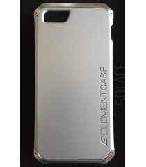 element case solace iphone se/5s/5 case silver with aluminum crowns msrp $79.95