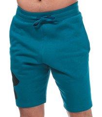 mens rival fleece logo shorts