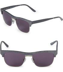 smoke x mirrors women's 53mm uncle albert sunglasses - grey