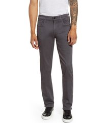 men's 7 for all mankind slimmy luxe sport slim fit jeans, size 33 - grey