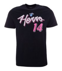 '47 brand miami heat men's city player script super rival t-shirt tyler herro