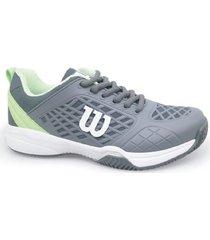 tenis zapatos wilson deportivos para damas match