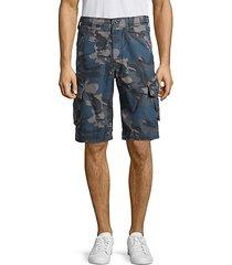 ripstop camo cargo shorts