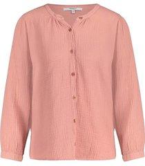 blouse terracotta s21t531-325