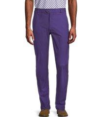 greyson men's koda honeycomb trousers - poppy - size 38 32