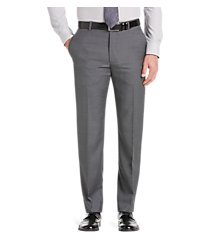 reserve collection tailored fit flat front men's suit separate pants by jos. a. bank
