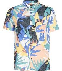 overhemd korte mouw quiksilver tropical flow