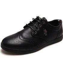 zapato casual negro us polo assn vienna - 42
