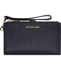 michael michael kors jet set grainy leather wallet