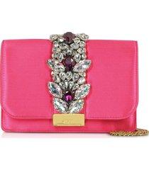gedebe designer handbags, satin cliky clutch