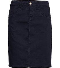 amaliecr skirt kort kjol blå cream