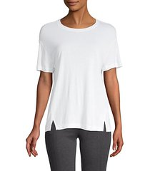 roundneck high-low tee