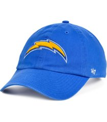 '47 brand los angeles chargers clean up cap