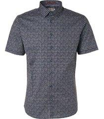 no excess shirt, s/sl, ao printed, stretch, m night