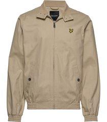 harrington jacket bomberjack jack beige lyle & scott