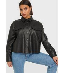 only onlmarina faux leather jacket cc pn skinnjackor