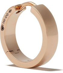 le gramme 18kt polished red gold 31/10g ribbon earring - rose gold