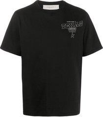 golden goose summer tour print t-shirt - black