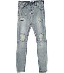 straight jeans sixth june jean cargo déchiré