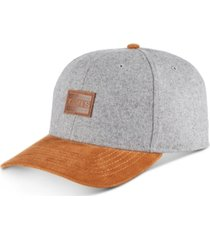levi's men's melton baseball cap with corduroy brim