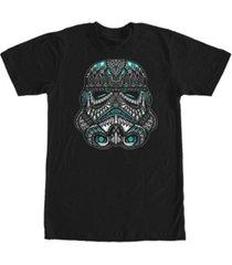 fifth sun men's trooper head short sleeve crew t-shirt