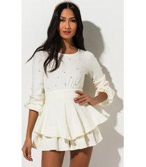 akira give it away pearl romper