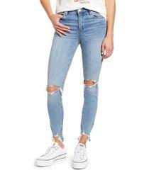 women's blanknyc the bond ripped skinny jeans