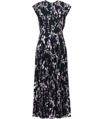 jason wu collection wild orchid day dress - black