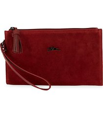 penelope leather wristlet