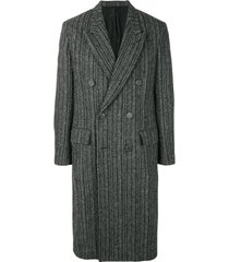 ami casaco com abotoamento duplo - preto