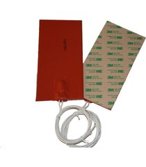 """4"""" x 6"""" 100 x 150mm 110v 120w water tank pan ce ul ithermal heater silicone pad"""