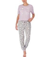 disney beauty & the beast t-shirt & jogger pants pajama set