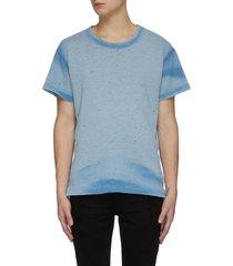 'washed shotgun' distressed t-shirt