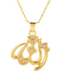 classico allah collana gioielli religione musulmano islam ciondoli collane per uomo donna