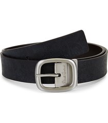 robert graham men's marko reversible leather belt - brown - size 44