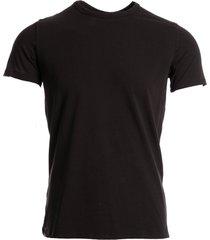 hom t-shirt o-neck stretch zwart